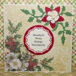 Kartka na Boże Narodzenie tradycyjna przód