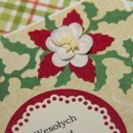Kartka na Boże Narodzenie tradycyjna z bliska 1
