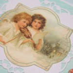 Kartka z Aniołami I z bliska 1