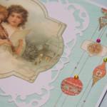 Kartka z Aniołami I z bliska