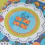 Kartka na 6 urodziny Karolka z bliska