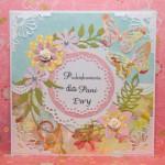 Kartka na zakończenie roku dla Pani Ewy przód