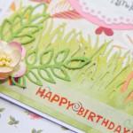 Kartka z okazji 7 urodzin Martynki z bliska 2