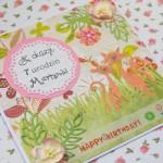 Kartka z okazji 7 urodzin Martynki z boku