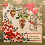 Kartka na Boże Narodzenie Wesołych Świąt 1 przód