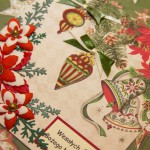 Kartka na Boże Narodzenie Wesołych Świąt 1 z boku