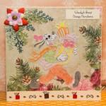 Kartka na Boże Narodzenie z Goofy przód