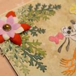 Kartka na Boże Narodzenie z Goofym z bliska