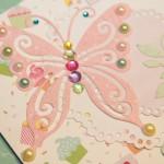 Kartka na 6 urodziny Leny z bliska