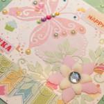 Kartka na 6 urodziny Leny z bliska 2
